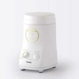 【新品/在庫あり】ツインバード お茶ひき器 緑茶美採 GS-4672W [ホワイト]