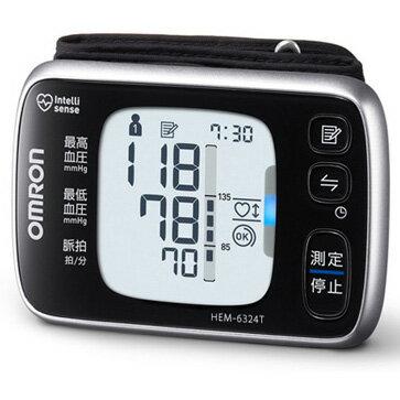 【新品/取寄品】オムロン 手首式血圧計 Bluetooth通信機能搭載 HEM-6324T