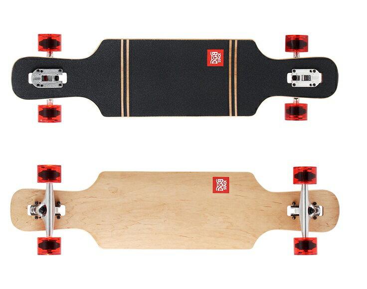 【新品/取寄品】DUB STACK (ダブスタック) ロングスケートボード 38インチ LSB238-NA ナチュラル 【北海道・沖縄・離島配送不可】