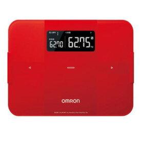 【新品/取寄品】オムロン 体重体組成計 カラダスキャン HBF-255T-R [レッド]
