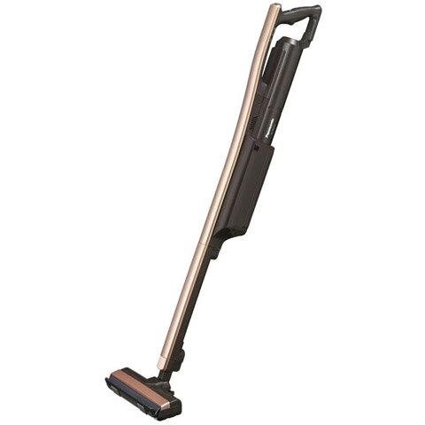 【新品/在庫あり】パナソニック 充電式コードレススティック掃除機 [紙パック式] MC-PBU510J-T ブロンズブラウン