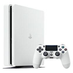 【新品/在庫あり】プレイステーション4本体 HDD 500GB グレイシャー・ホワイト [CUH-2100AB02]