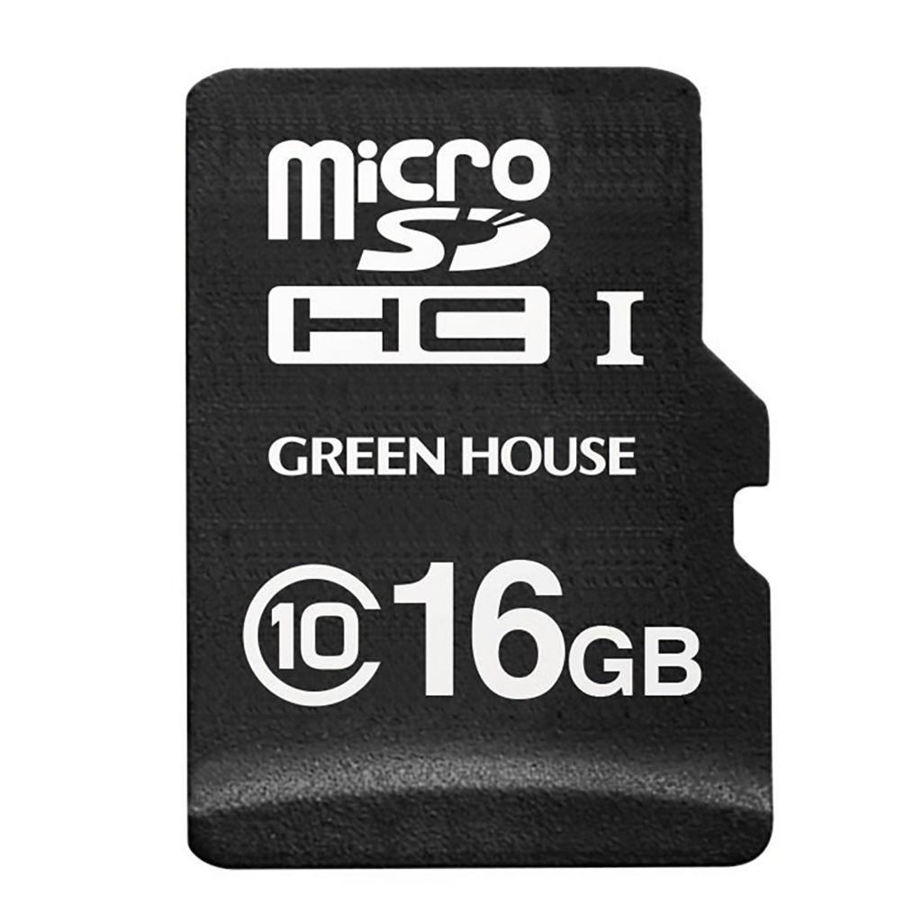 【新品/取寄品/代引不可】ドラレコ/アクションカメラ向けmicroSDHCカード 16GB GH-SDM-A16G