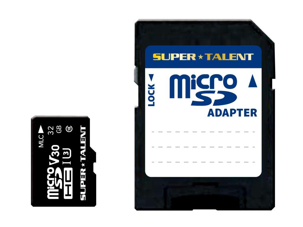 【新品/取寄品/代引不可】監視カメラ・ドラレコ用 高速・高耐久・高信頼性 3D MLC microSDHC 32GB アダプタ同梱 ST32MSU3PD