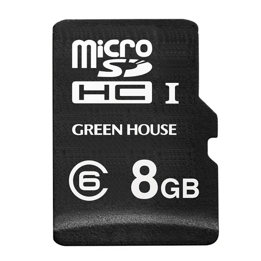 【新品/取寄品/代引不可】ドラレコ/アクションカメラ向けmicroSDHCカード 8GB GH-SDM-A8G