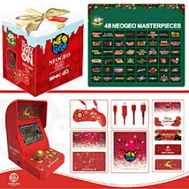 【新品/在庫あり】NEOGEO mini (ネオジオミニ) クリスマス限定版 [FM1J2X1810] *専用紙袋付