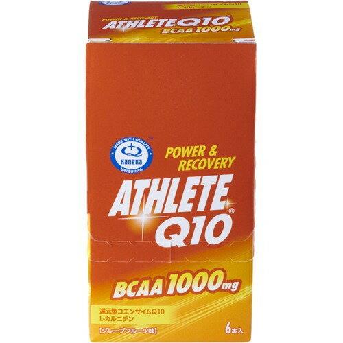 【通販限定/新品/取寄品/代引不可】アスリートQ10 BCAA グレープフルーツ味 50g*6本