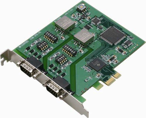 【新品/取寄品】PCI Express対応 絶縁型RS-422A/485 2ch シリアル通信ボード COM-2PD-PE