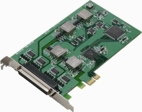 【新品/取寄品】PCI Express対応絶縁型RS-232C 4ch シリアル通信ボード COM-4PC-PE