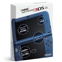 【新品/在庫あり】Newニンテンドー3DS LL本体 メタリックブルー [RED-S-BAAA]