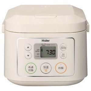 【新品/取寄品】Haier/ハイアール マイコンジャー炊飯器(3合炊き) JJ-M30C-W ホワイト