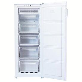 【新品/取寄品】ノーフロスト 155L ノンフロン冷凍庫 冷気循環方式アップライトフリーザー FFU155RF ホワイト