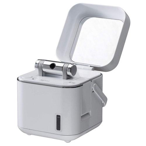 【新品/在庫あり】TWINBIRD フェイススチーマー SH-2786W ホワイト 美容家電 スチーマー スチーム イオン 美顔器 フェイスケア ツインバード