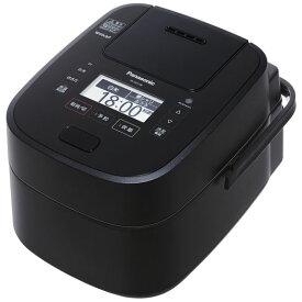 【新品/取寄品】パナソニック スチーム&可変圧力IHジャー炊飯器 Wおどり炊き SR-VSX108-K [ブラック] [5.5合炊き]