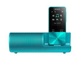 【新品/在庫あり】ウォークマン Sシリーズ 4GB ブルー スピーカー付属 NW-S313K/L