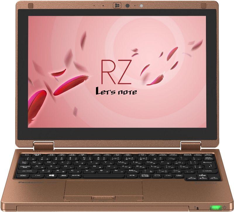 【新品/在庫あり】Let's note RZ4 CF-RZ4ADBCS ブルー&カッパー Windows 7 プレインストール済み 法人向けモデル