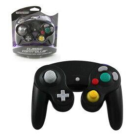 【新品/在庫あり】[ゲームキューブ・Wii互換機] GC/Wii用コントローラー ブラック [GC901]