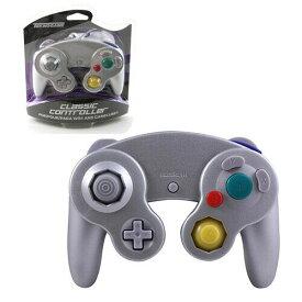 【新品/在庫あり】[ゲームキューブ・Wii互換機] GC/Wii用コントローラー シルバー [GC903]
