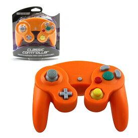 【新品/在庫あり】[ゲームキューブ・Wii互換機] GC/Wii用コントローラー オレンジ [GC905]