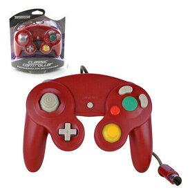 【新品/在庫あり】[ゲームキューブ・Wii互換機] GC/Wii用コントローラー レッド [GC906]