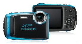 【新品/在庫あり】FinePix XP130SB スカイブルー FUJIFILM 防水カメラ 1640万画素 ファインピックス 富士フイルム デジタルカメラ