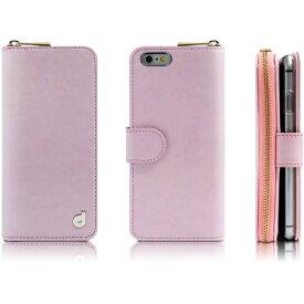 【通販限定/新品/取寄品/代引不可】ドリームプラス iPhone6 ジッパー お財布付きダイアリーケース ピンクDP4401i6 1コ入
