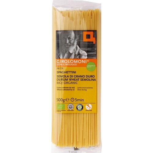 【通販限定/新品/取寄品/代引不可】ジロロモーニ デュラム小麦 有機スパゲッティーニ 500g