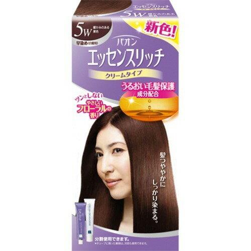 【新品/取寄品】【通販限定】パオン エッセンスリッチ 早染めクリーム 5W 暖かみのある栗色