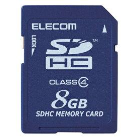 【新品/取寄品/代引不可】SDHCカード/Class4/8GB/法人専用/簡易パッケージ MF-FSD008GC4/H