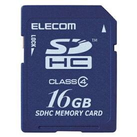 【新品/取寄品/代引不可】SDHCカード/Class4/16GB/法人専用/簡易パッケージ MF-FSD016GC4/H