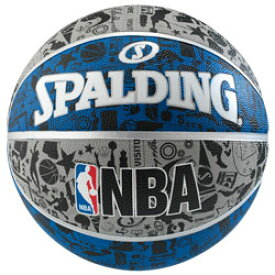 【化粧箱なし】【新品/取寄品】バスケットボール グラフィティ ブルー 7号球 83-176Z