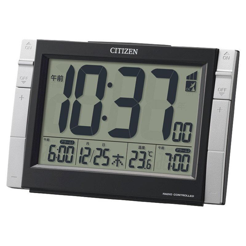 【新品/取寄品】【特選商品】シチズン 電波デジタル時計 8RZ150-002
