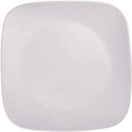 【通販限定/新品/取寄品/代引不可】コレール ウインターフロストホワイト スクエア中皿 J2211-N 1枚入