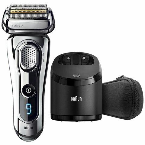 【新品/在庫あり】ブラウン メンズ電気シェーバー シリーズ9 9295CC-P [洗浄器付モデル/お風呂剃り対応/シェーバーケース付 ]