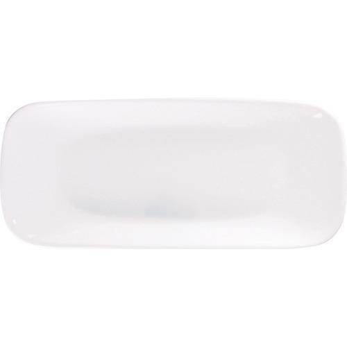 【通販限定/新品/取寄品/代引不可】コレール ウインターフロストホワイト スクエア長皿 J2210-N 1枚入