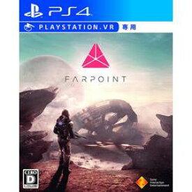 【新品/在庫あり】[PS4VR専用ソフト] Farpoint (ファーポイント) [PCJS-50020]