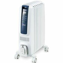 【新品/取寄品】ドラゴンデジタルスマート オイルヒーター QSD0712-MB ピュアホワイト+ブルー