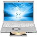 【新品/在庫あり】Let's note SZ6 CF-SZ6HDLQR (i5、スーパーマルチドライブ、シルバー、Office搭載モデル)