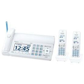 【新品/取寄品】おたっくす KX-PD725DW-W ホワイト デジタルコードレス普通紙ファクス (子機2台付き)