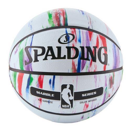 【新品/取寄品/代引不可】バスケットボール マーブルコレクション マルチ 7号球 83-636Z