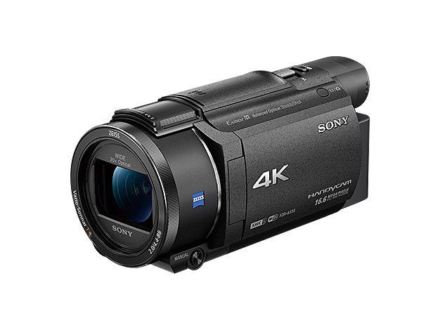 【新品/在庫あり】デジタル4Kビデオカメラレコーダー Handycam FDR-AX55-B ブラック