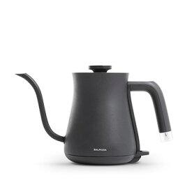 【新品/取寄品】BALMUDA ステンレス製 電気ケトル The Pot K02A-BK [ブラック] (600ml)