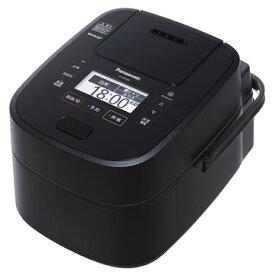 【新品/在庫あり】パナソニック スチーム&可変圧力IHジャー炊飯器 Wおどり炊き SR-VSX188-K [ブラック] [1升炊き]