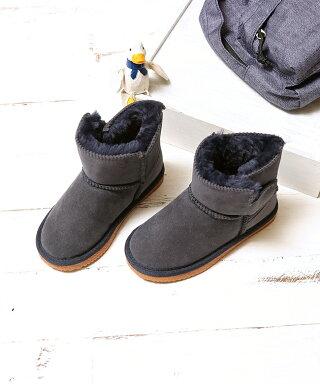 ママとおそろい♪ふわふわファーベビームートンブーツキッズショート13ムートンブーツスエードファークッションレディースショートブーツ小さいサイズ大きいサイズ男の子女の子通販防寒kids子供靴ジュニア2015秋モデル