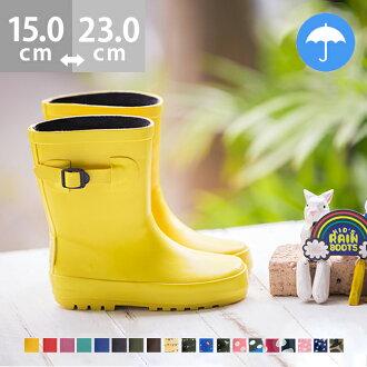 Kids rain boots /dot pattern / rain boots/pink / dot / waterproof / water repellent  / kids/ boys / girls / belt / light weight / snow /  2016 item /small size/large size/outlet shoes/ japan cute