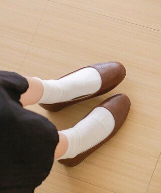 送料無料スクエアトゥローヒールスムース調パンプスラウンドトゥレディース走れる痛くない歩きやすい疲れにくい1cmヒールローヒール太ヒール大きいサイズ小さいサイズ3e幅広春夏シンプル滑りにくい
