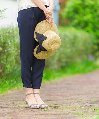 楽天ランキング1位★送料無料GINGERコラボ華奢見え女っぽサンダルレディース歩きやすい大きいサイズ2017夏7cmヒールストラップ|アンクルストラップブラックレディースサンダル