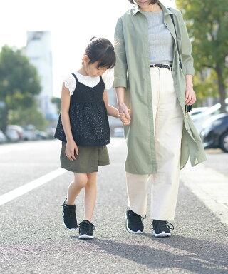 家族みんなで履ける豊富なサイズ展開ノームコアスニーカー