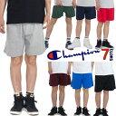 チャンピオン ハーフパンツ メンズ レディース 無地 CHAMPION ショートパンツ ジャージパンツ USAモデル 大きいサイズ ヒップホップ ダンス 衣装 ストリート XL XXL LL 2L 3
