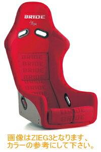 BRIDE ZIEG3 type-R (ジーグ3 タイプアール) レッドロゴ FRP製 品番 F67IMF【シート】ブリッド【通常ポイント10倍!】